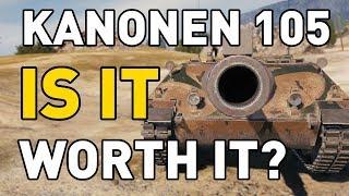 World of Tanks || Kanonenjagdpanzer 105 - worth it?