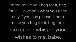 Chris Brown beg for it lyrics