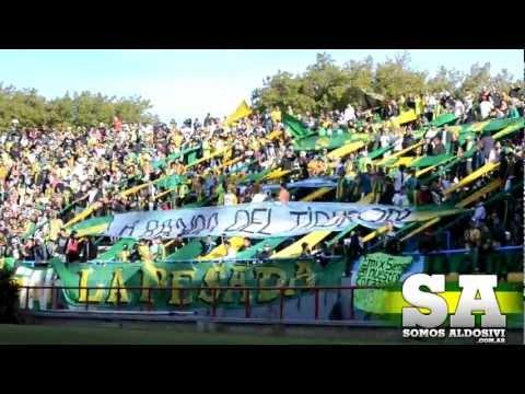 """Aldosivi 0 - Patronato 0 // Www.SomosAldosivi.Com.Ar"" Barra: La Pesada del Puerto • Club: Aldosivi"