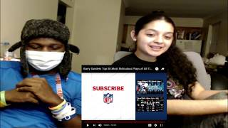 BARRY SANDERS TOP 50 MOST RIDICULOUS PLAYS OF ALL TIME (Reaction)