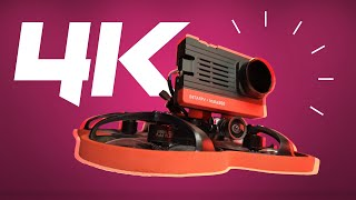 Cine-Whoop Drohne + 4k Kamera - Was kann der 95x v3 von BETA FPV mit SMO von Insta360?