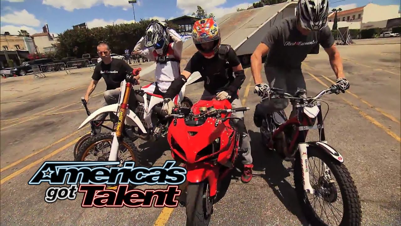 Real Encounter: Action Sports Team Pulls off Insane Stunts - America's Got Talent 2014 thumbnail