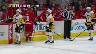 Daley settles down airborne puck, fires a rocket past Ward