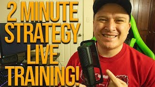 Best Binary Options Strategy 2020 - 2 Minute Strategy LIVE TRAINING!