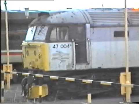 Visit to Old Oak Common TMD in 1993 (including scrap lines)