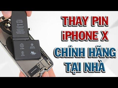 Hướng dẫn thay Pin iPhone X cực dễ - Tự làm ngay tại nhà