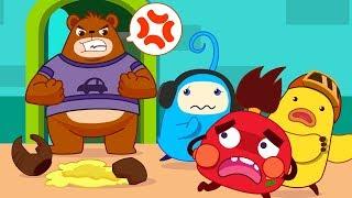 Colored Monsters Break Mr. Bear's Honey Pot | Math Kingdom Adventure | Kids Cartoon | BabyBus
