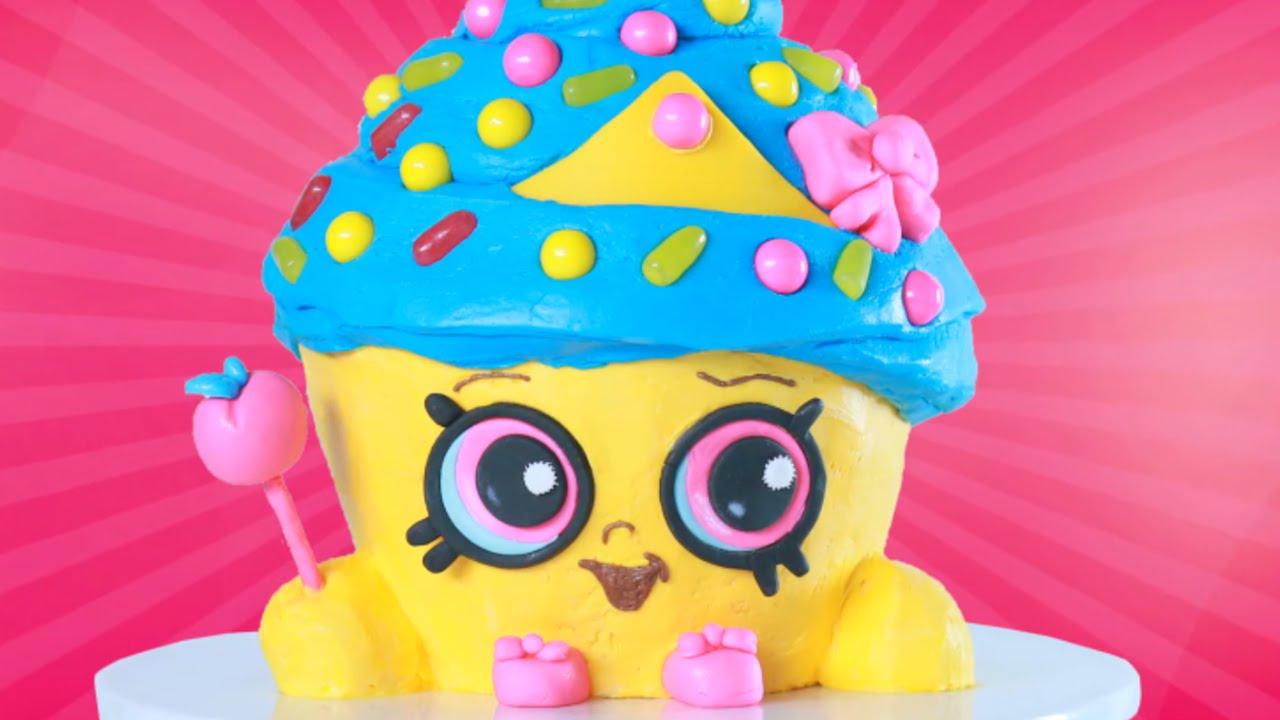 SHOPKINS CUPCAKE QUEEN CAKE - NERDY NUMMIES thumbnail