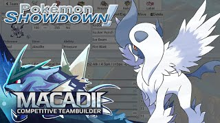 Mega Absol Pokemon Showdown OU Team Building w. macadii (Smogon ORAS OU Team)