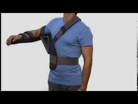 3D обзор абдукционный ортеза для верхней конечности Omo Immobil