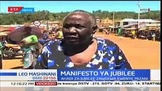 Maoni ya wakazi wa Kisii kuhusu manifesto ya Jubilee kuanzia mwaka wa 2017- 2022