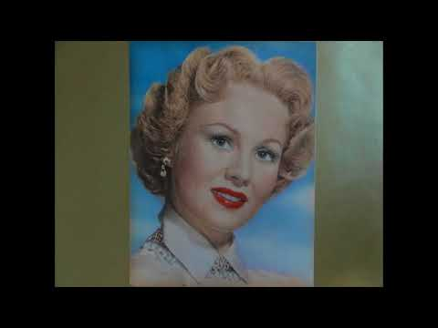 HOLLYWOOD GLAMOUR TRIBUTE #53- VIRGINIA MAYO (1920-2005)