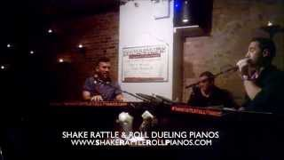 5/10/15 - Shake Rattle & Roll Dueling Pianos  - Video of the Week!