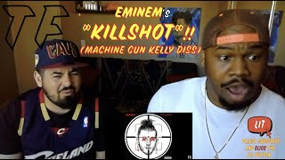 EMINEM FINALLY RESPONDs!!! KILLSHOT (Official Audio) REACTION