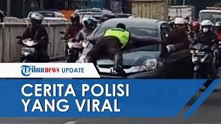 Cerita Polisi yang Nempok di Kap Mobil di Pasar Minggu, Bermula Pengendara Ditegur soal Parkir