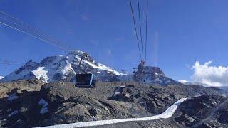 Reaching the Swiss Mountain Peaks