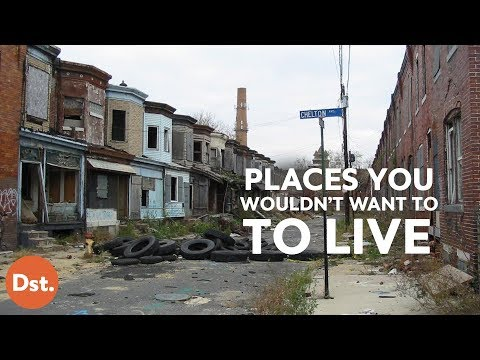 Video 12 of the Worst Places to Live in the U.S.