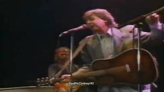 Paul McCartney - Long Tall Sally [HD] Prince's Trust Concert 1986