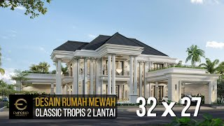 Video Desain Rumah Classic 2 Lantai Ibu Sari di  Aceh