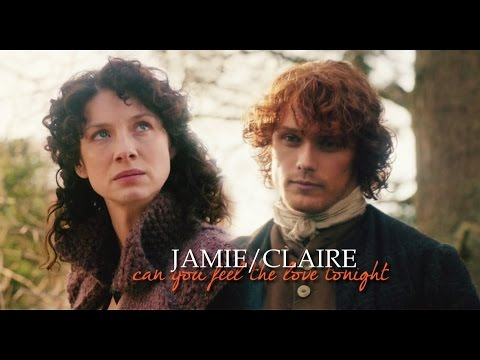 [outlander] jamie/claire » can you feel the love tonight