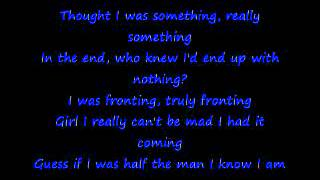 Anthony Hamilton Pray for me with lyrics