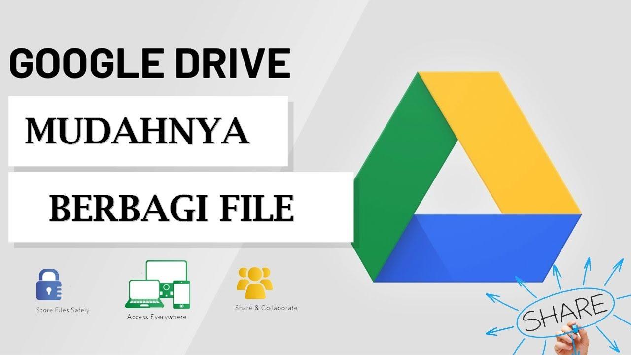 Cara Upload File Gambar dan Video Ke Google Drive di Laptop