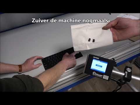 CM 100: Storing – het systeem print niet goed
