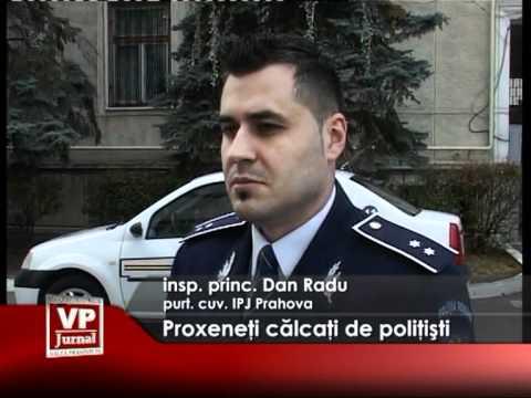 Proxeneţi călcaţi de poliţişti