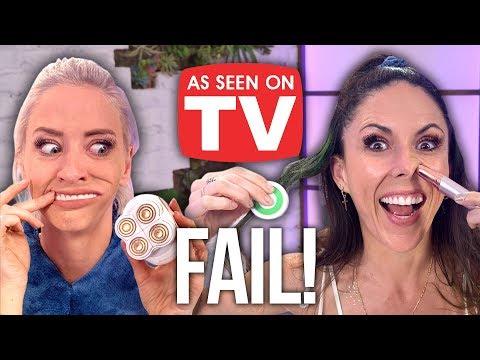 "Testing Weird ""As Seen On TV"" Products! (Beauty Break)"