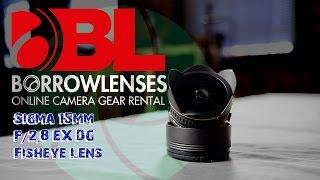 Sigma 15mm F/2.8 EX DG Fisheye Lens Review