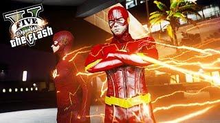 The Flash 2024 Saving People ! New Flash Suit (GTA 5 Flash Mod)