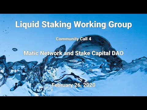 create liquid staking assets - video