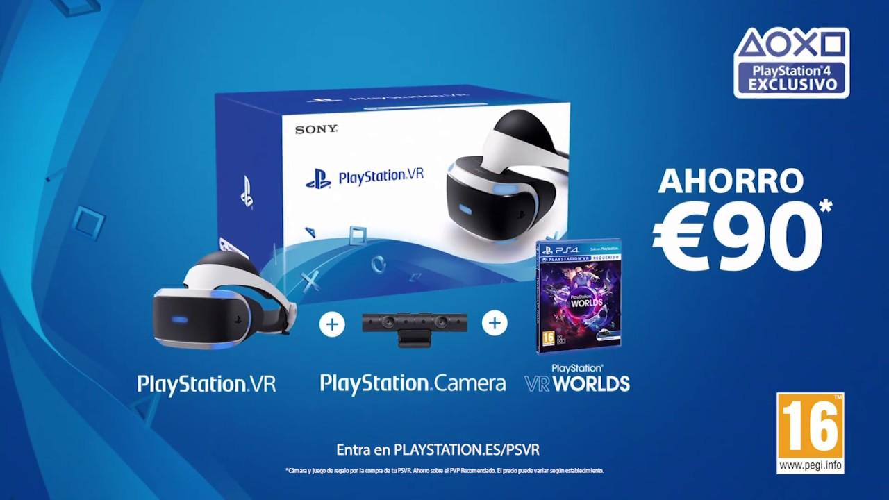 PS VR ahora con VR Worlds y PlayStation Camera de regalo – Ahorra 90 €