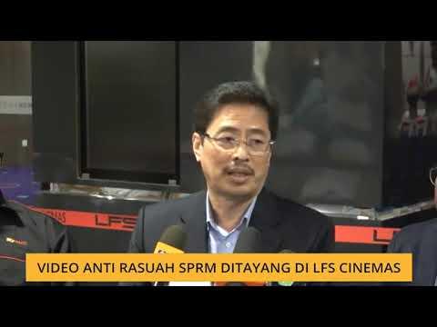 Video anti rasuah SPRM ditayang di LFS Cinemas