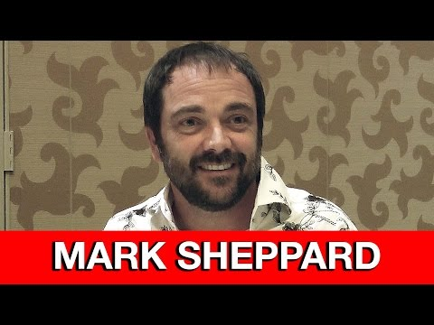 Supernatural Crowley Interview -  Mark Sheppard | MTW