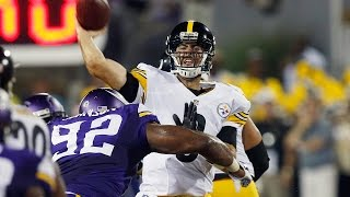 Vikings vs. Steelers Hall of Fame game highlights