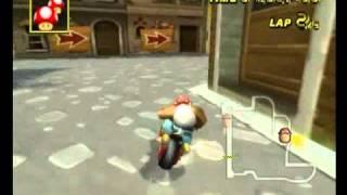 DS Delfino Square 2'05''413 なぎさ(っ`ω´c) - Mario Kart Wii World Champion