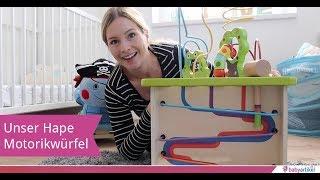 Testbericht: Hape Motorikwürfel Kleine Tierchen | babyartikel.de