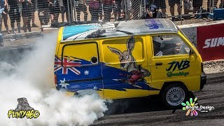 "LS3 SUZUKI VAN ""FALKY"" RUNS AMUCK AT SUMMERNATS 31"