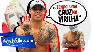 """Tatuagem dos MCs com MC Lan – """"Minha Primeira Foi Com 11 anos"""""""