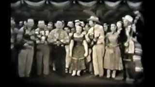 Rare Hank Williams, Carter Family, Acuff Video - 1952 - Glory Bound Train