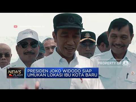 Jokowi Segera Umumkan Lokasi Ibu Kota Baru