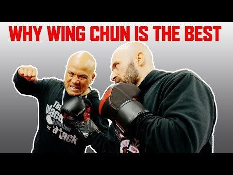 WHY WING CHUN IS THE BEST | Defend a uppercut using Wing Chun