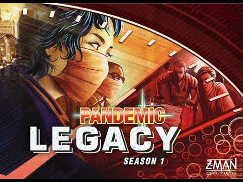 The Purge: # 1535 Pandemic Legacy: Season 1: After Three Playthroughs SPOILER FREE