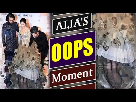 Alia Bhatt Suffers WARDROBE Malfunction At ICW 2017; Watch Video | FilmiBeat Mp3