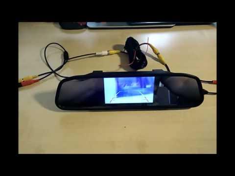 ROGUCI Dax 4.3 Zoll Monitor in Rückspiegel inkl. Rückfahrkamera