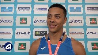 Sasha Zhoya : « Je n'avais jamais fait de 60 m haies »