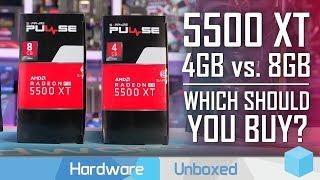 AMD Radeon RX 5500 XT 4GB vs. 8GB, 1080p & 1440p Benchmarks