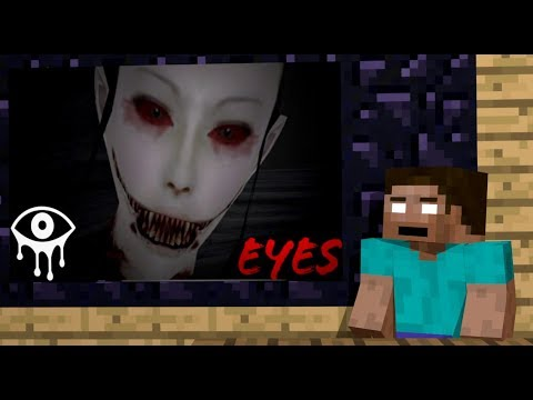Monster School: Eyes The Horror Game Challenge - Minecraft Animation