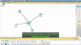 preview picture of video 'DHCP Server - Cisco router configuration with Cisco Packet Tracer 5.0'